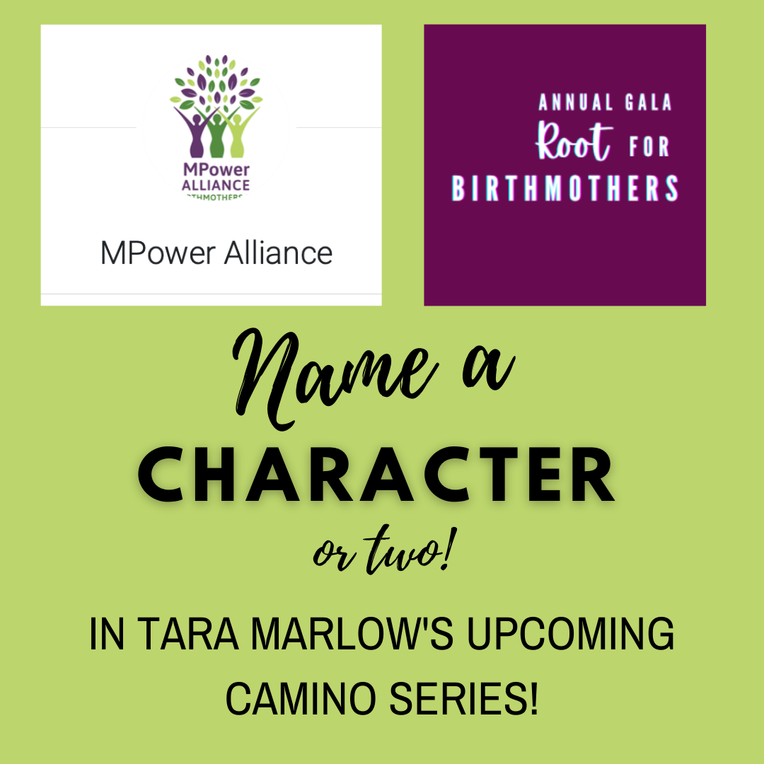 Name TWO characters in My Next Book!